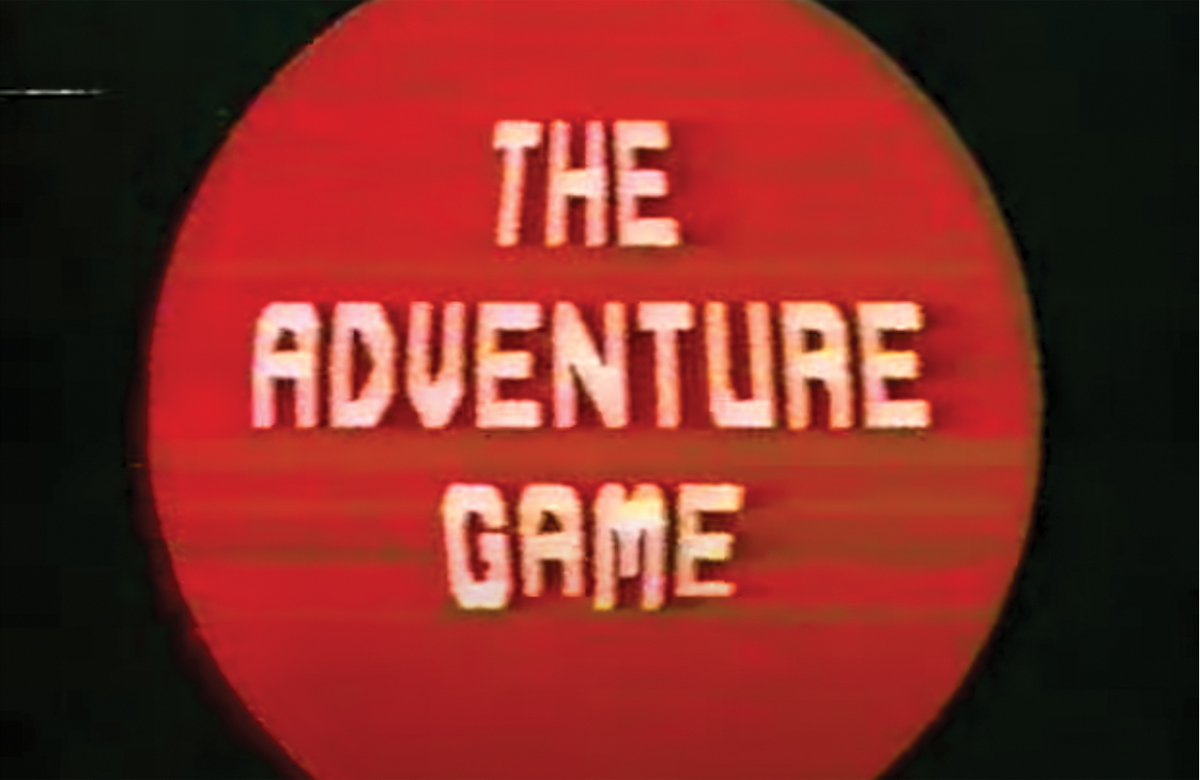 The Adventure Game. Photo: YouTube