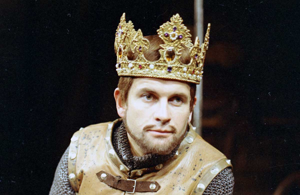 Ian Holm as Henry V in 1965