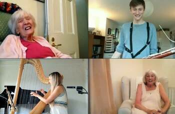 Coronavirus: Performers offer virtual shows to care home residents
