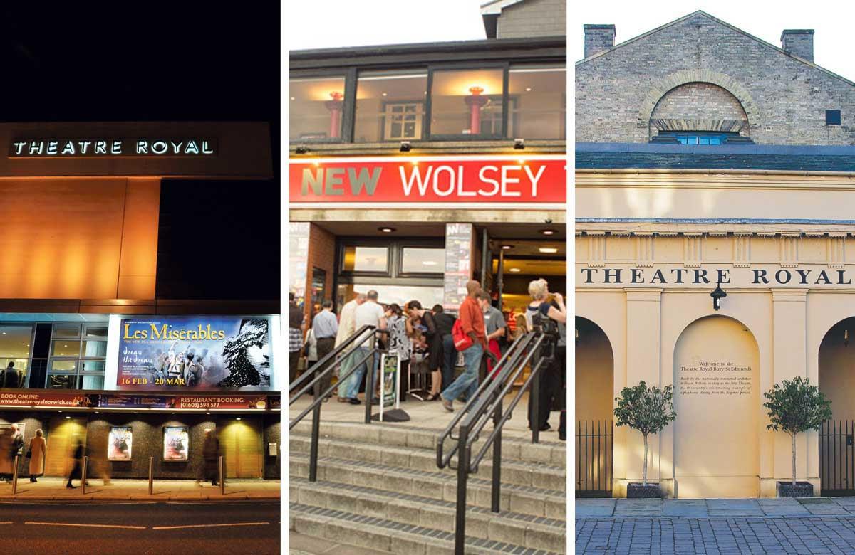 Norwich Theatre Royal, Ipswich's New Wolsey and Theatre Royal Bury St Edmunds are among the venues consulted