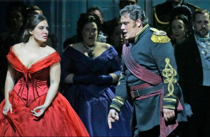 A scene from the Metropolitan Opera's Otello