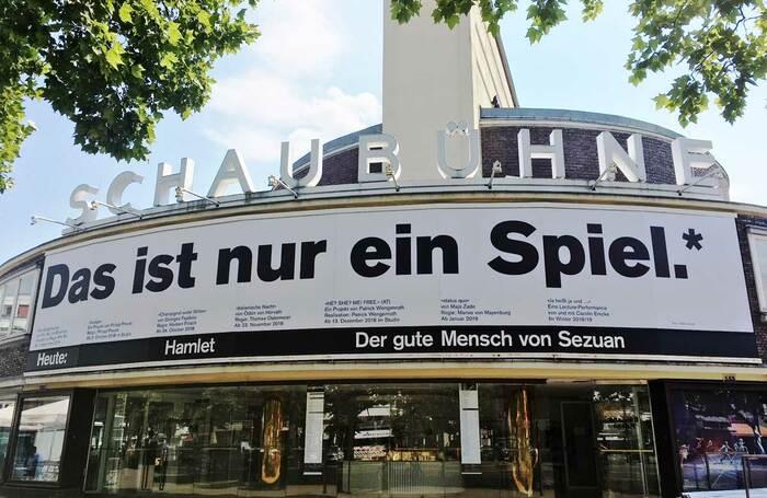 Germany's Schaubühne Theatre, which plans to reopen in October. Photo: Franziska Lantermann