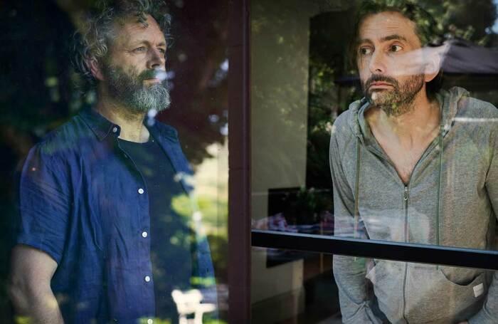 Michael Sheen and David Tennant in Staged. Photos: Simon Ridgeway/Paul Stephenson