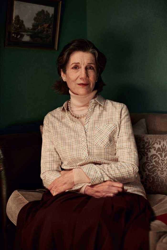 Harriet Walter in Talking Heads – Soldiering On. Photo: Zac Nicholson/London Theatre Company