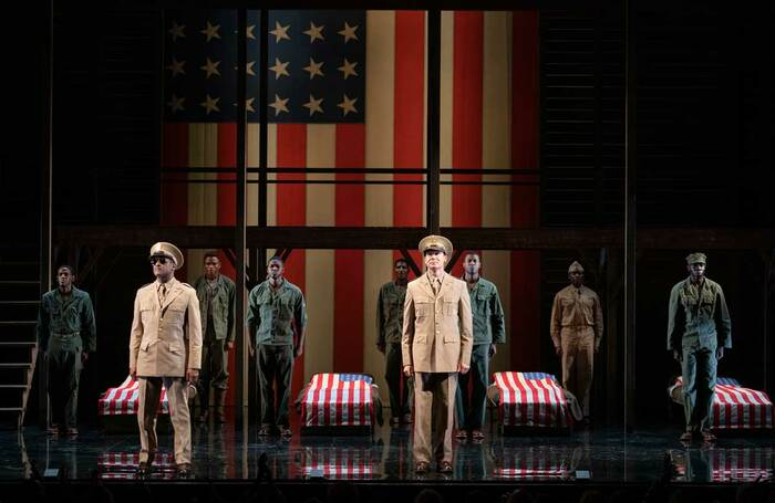 Roundabout Theatre Company's A Soldier's Play in 2019. Photo: Joan Marcus
