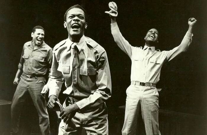 Original production of NEC's A Soldiers Play