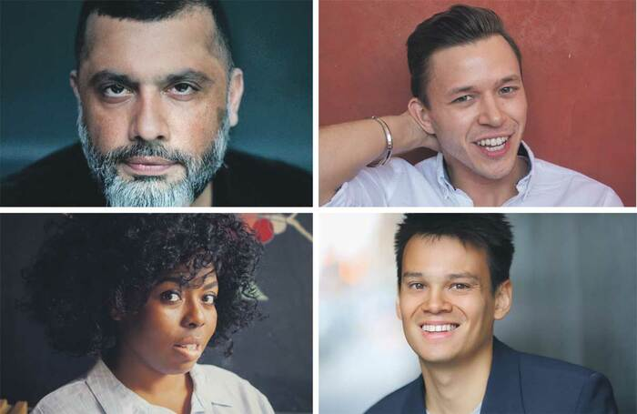 Members of Race Equality Consultants include, clockwise from top left: Irvine Iqbal, Jassa Ahluwalia, Matt Lim and Michelle Chantelle Hopewell