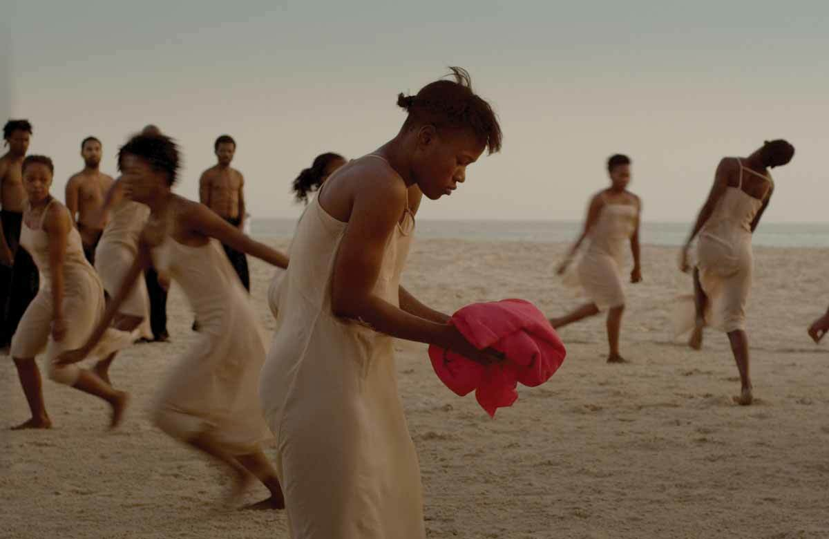 Amy Colle Seck in Dancing at Dusk. Photo: Polyphem Filmproduktion