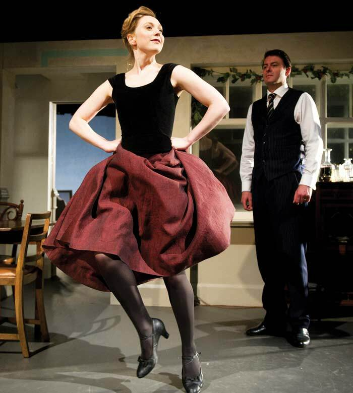 Hattie Morahan and Dominic Rowan in A Doll's House, which opened at the Young Vic on July 9, 2012