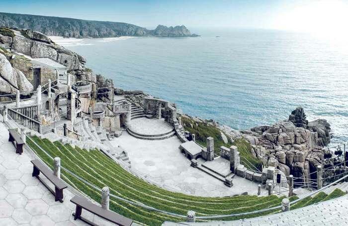 Minack Theatre in Cornwall. Photo: Matt Gibson/Shutterstock