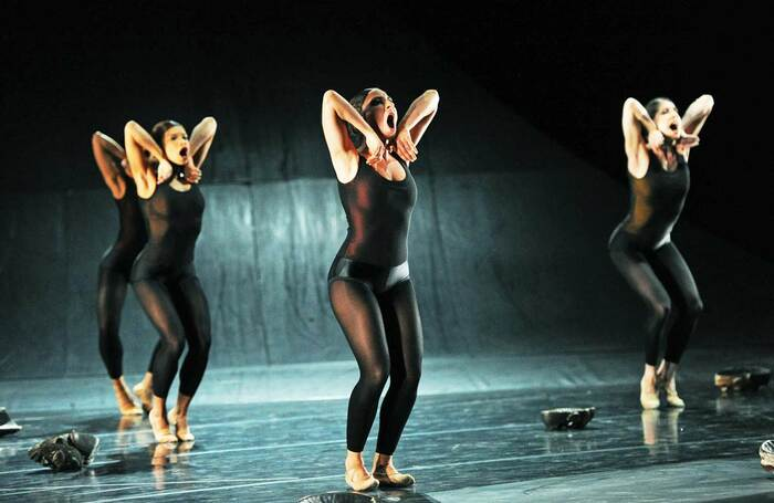 Whereabouts Unknown, from Programme One by Nederlands Dans Theater , which opened on July 6, 2010 at Sadler's Wells
