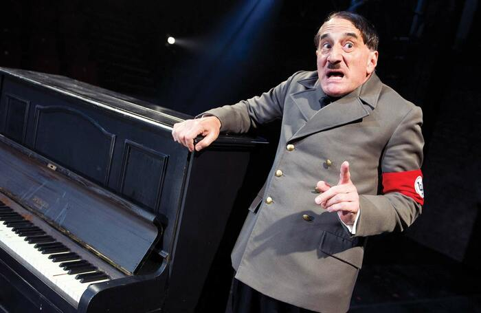 Henry Goodman in The Resistible Rise of Arturo Ui, which opened at the Minerva Theatre, Chichester on July 11, 2012.