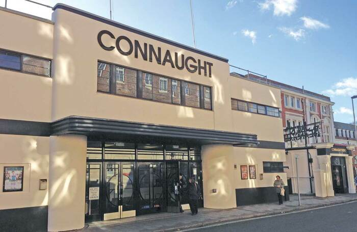 Connaught Theatre in Worthing