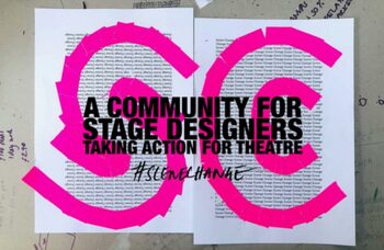 UK venues to be wrapped in pink tape in 'missing live theatre' campaign
