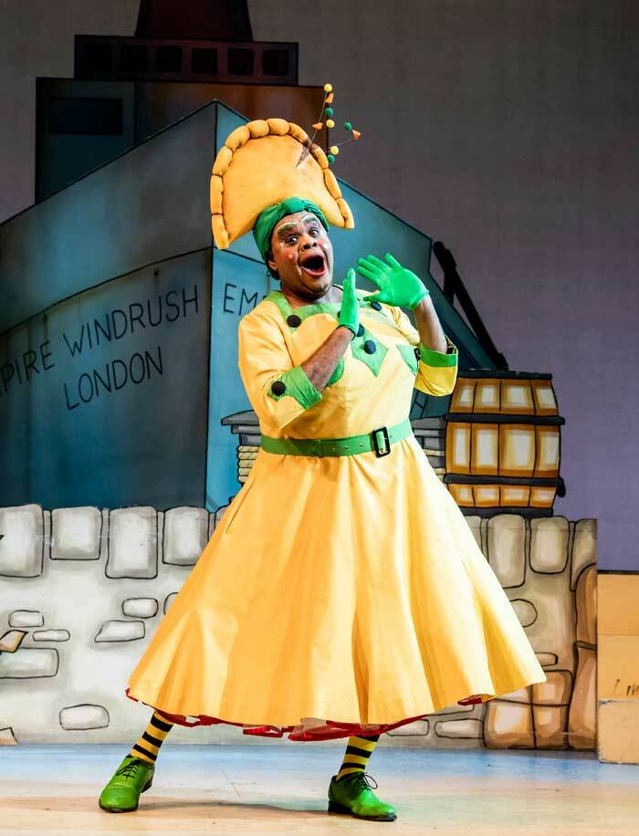 Clive Rowe in Dick Whittington at Hackney Empire in 2019. Photo: Tristram Kenton