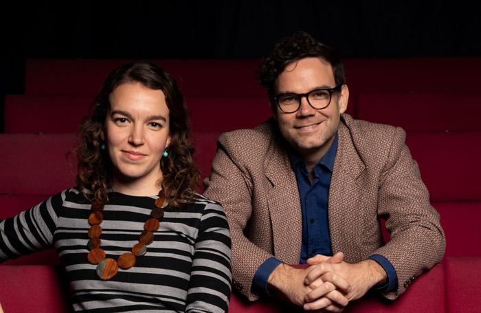 Fiona English and Adam Spreadbury-Maher. Photo: Nick Rutter