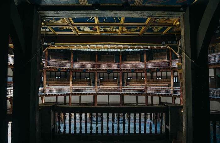 Shakespeare's Globe during lockdown. Photo: Helen Murray