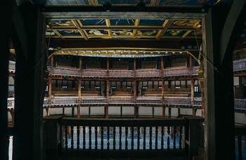 Shakespeare's Globe opens stage to public for first time