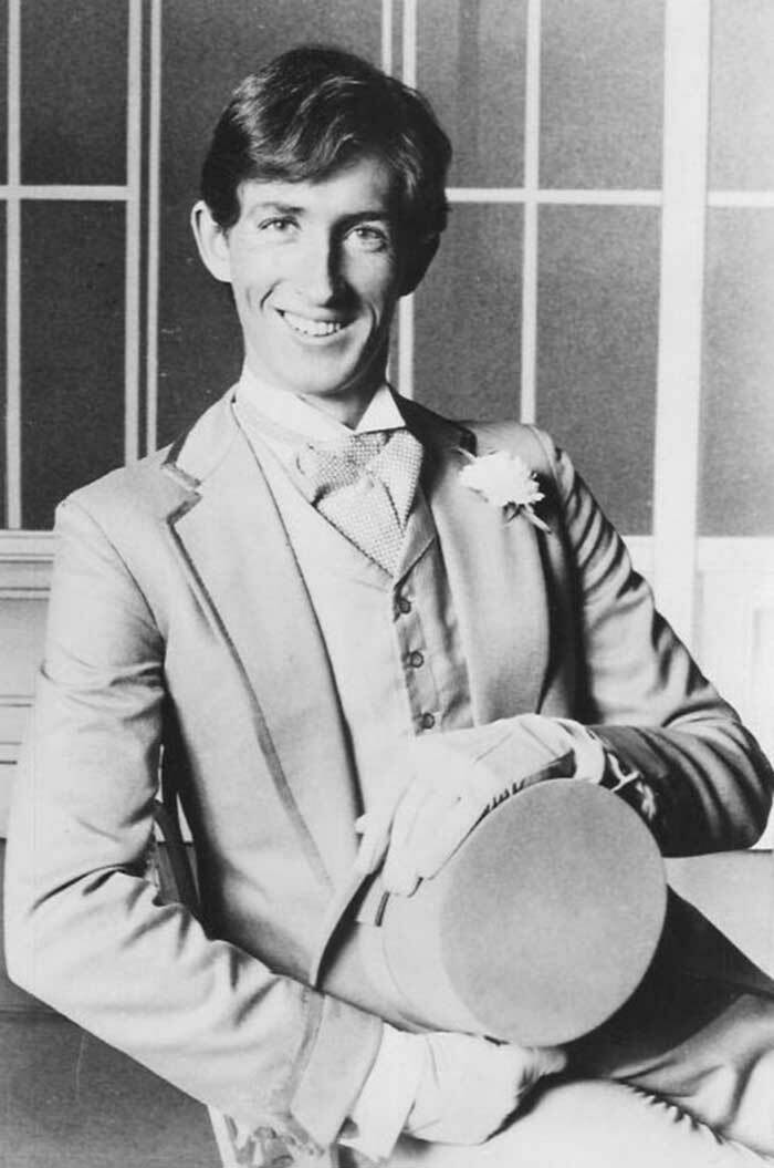 Peter Land in My Fair Lady in 1979