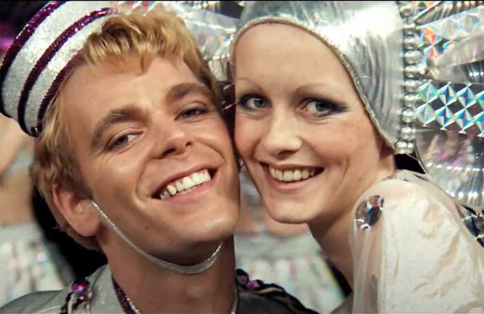 Christopher Gable and Twiggy in The Boy Friend (1971)