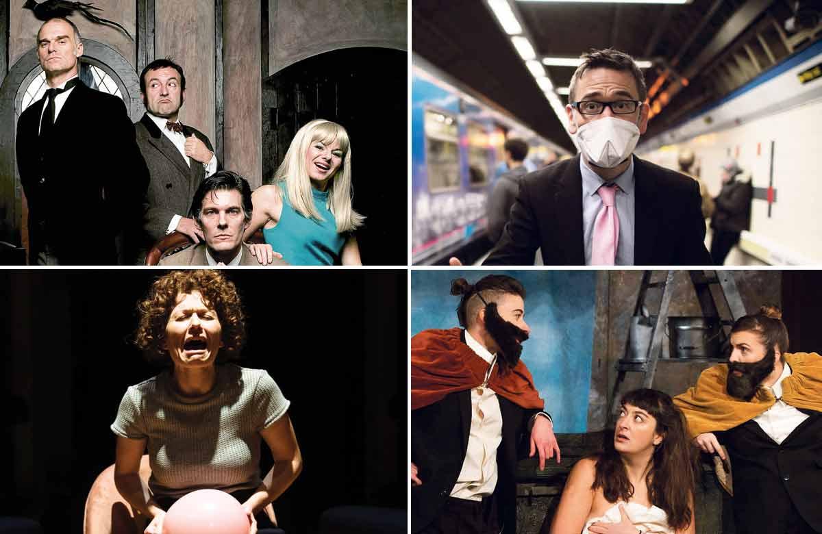 Top row: Spymonkey and Daniel Bye. Bottom row: Amsterdam and It's True, It's True, It's True. Photos: Helen Murray/Alex Brenner