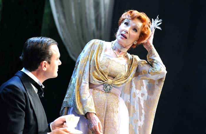 Richard Lintern and Susan Hampshire in The Circle, which opened at Chichester Festival Theatre on July 30, 2008
