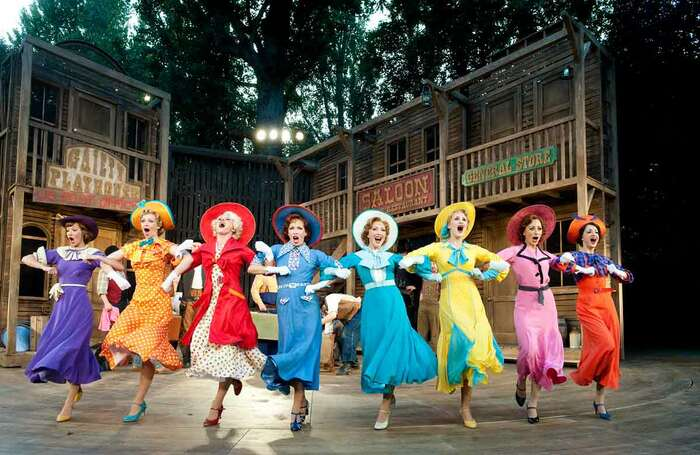Crazy for You, which opened at Regent's Park Open Air Theatre on August 8, 2011