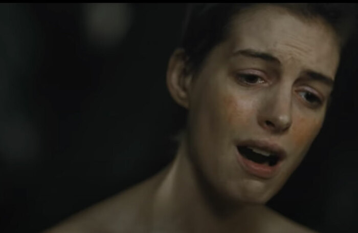 Anne Hathaway in Les Misérables. Photo: YouTube