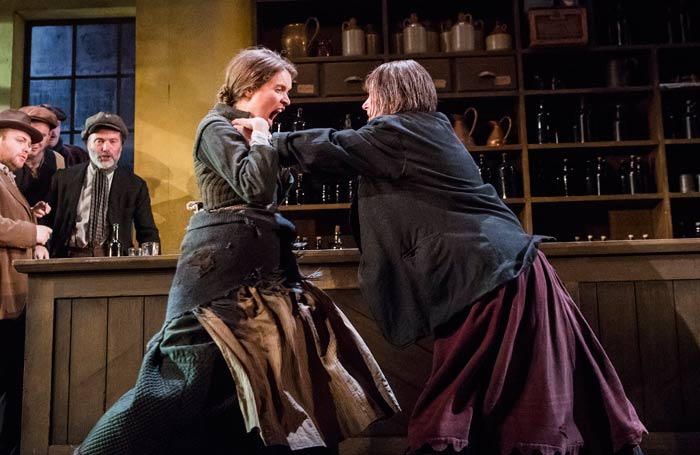 Justine Mitchell and Josie Walker in The Plough and the Stars, which opened at the National Theatre on July 27, 2016