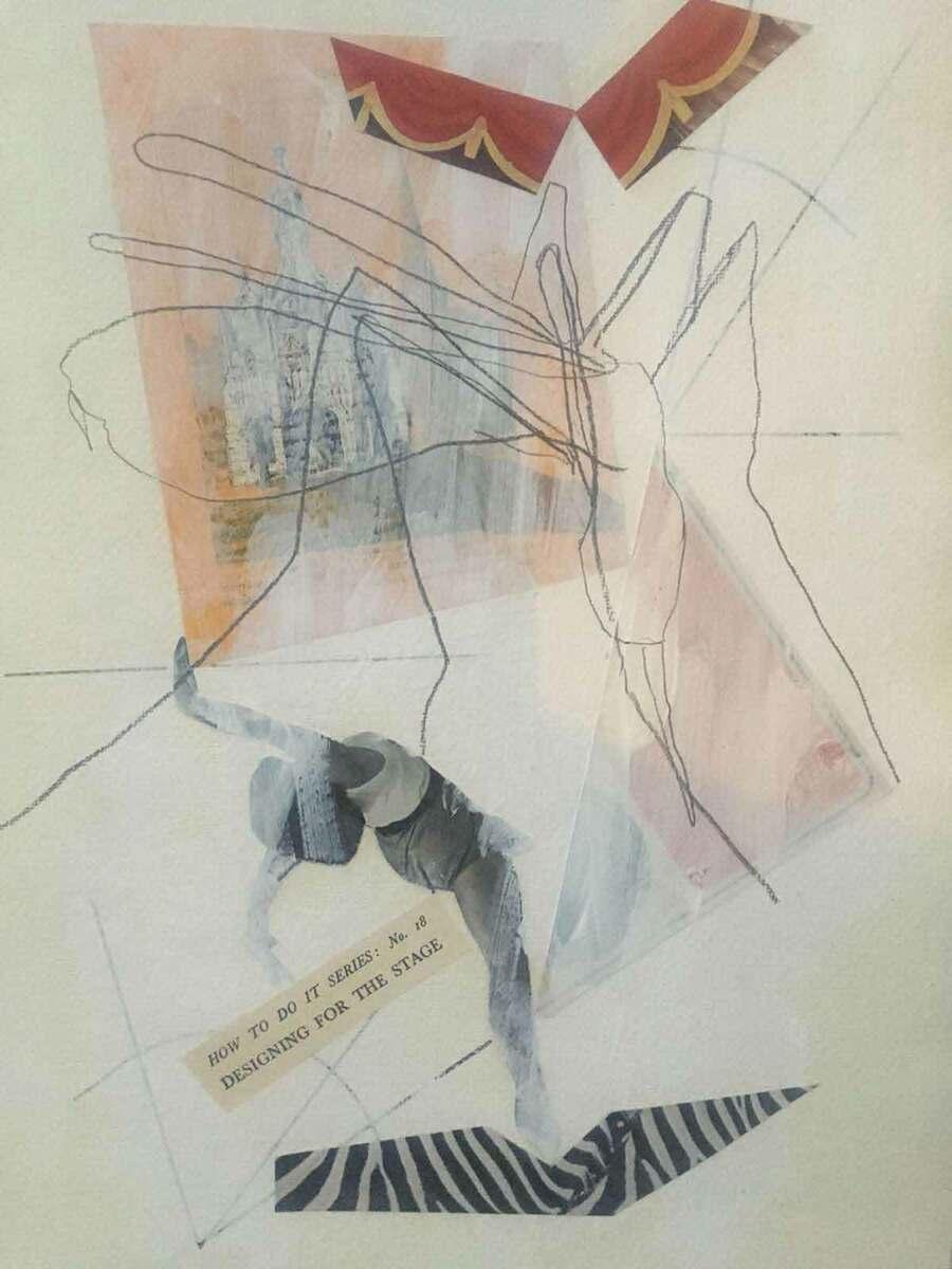 Theatre Designer in Lockdown, by Robert Innes Hopkins