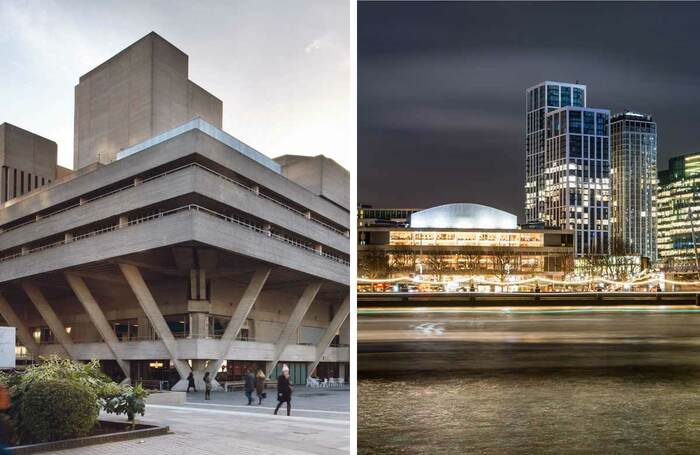 National Theatre and the Southbank Centre. Photos: Philip Vile/Shutterstock