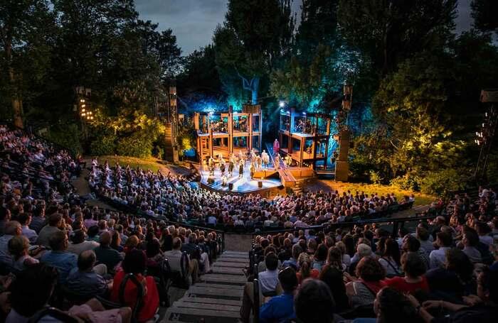 Jesus Christ Superstar at Regent's Park Open Air Theatre in 2016. Photo: David Jensen