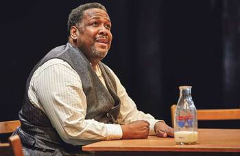 Wendell Pierce as Che? Why not – actors should play their dream roles