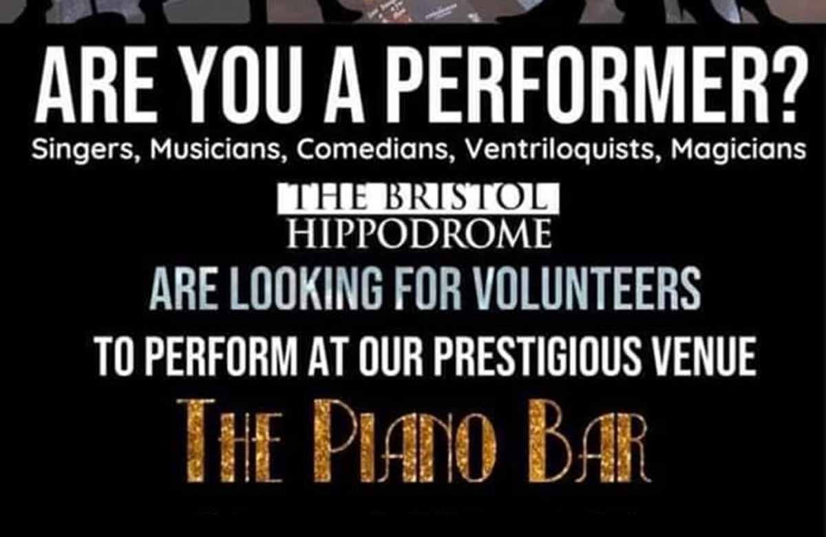 ATG-run Bristol Hippodrome sorry for 'disgraceful' advert for unpaid work