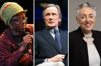 Quotes of the week, September 2: Jonzi D, Bill Nighy, Ruth Mackenzie and more