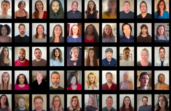 Virtual choir of 90 performers releases single to raise money for theatre charities
