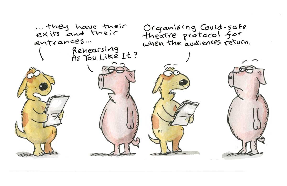 Hamlet, September 16