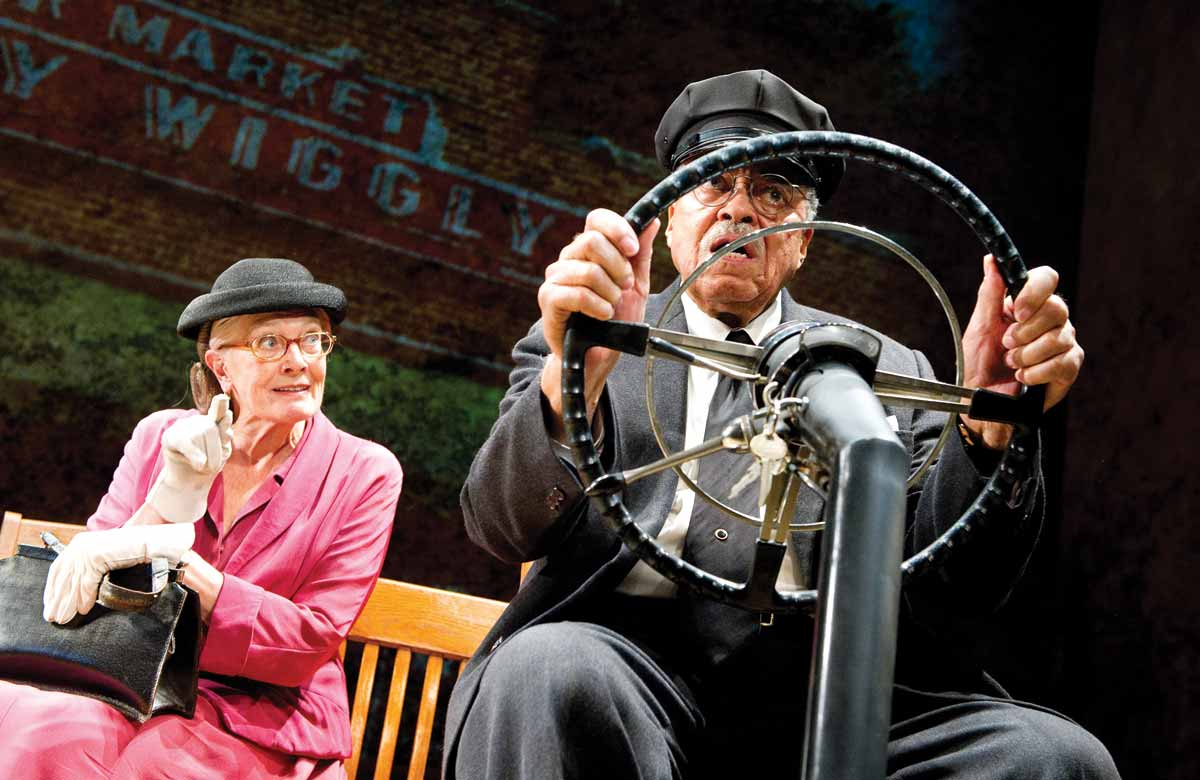 Vanessa Redgrave and James Earl Jones in Driving Miss Daisy, which opened at Wyndham's Theatre, London on October 5, 2011