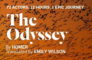 72 actors to perform all 24 books in The Odyssey over 12 hours online