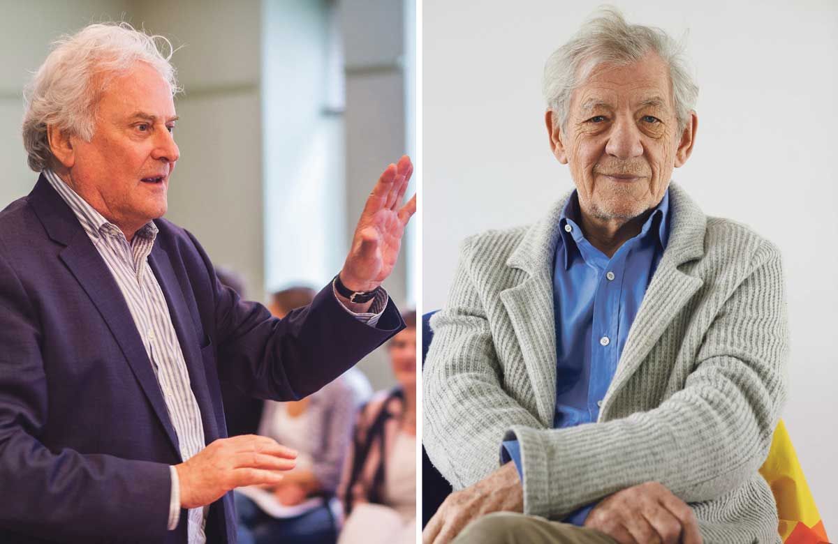 Richard Eyre and Ian McKellen to teach schoolchildren drama online