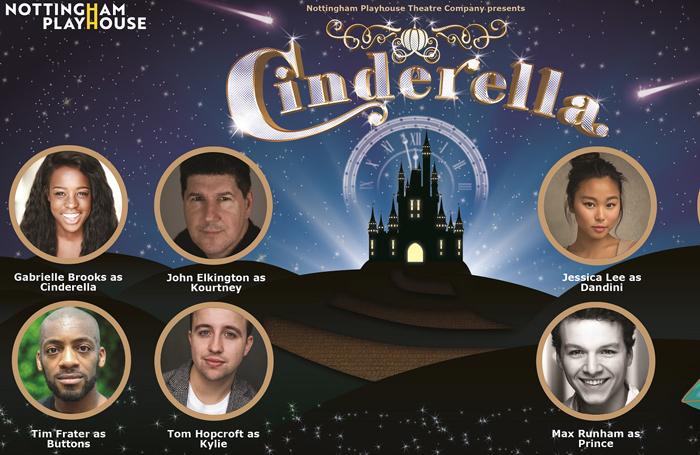 Nottingham Playhouse announces Cinderella pantomime