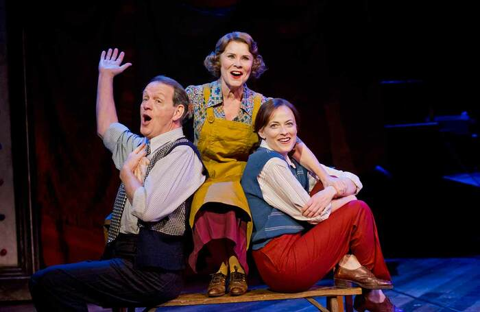 Kevin Whately, Imelda Staunton and Lara Pulver in Gypsy, which opened at Chichester Festival Theatre on October 14, 2014