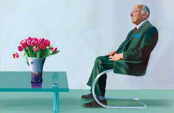 Royal Opera House's Hockney painting raises £12.8m at auction