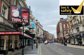 See It Safely campaign to boost audience confidence in attending theatres