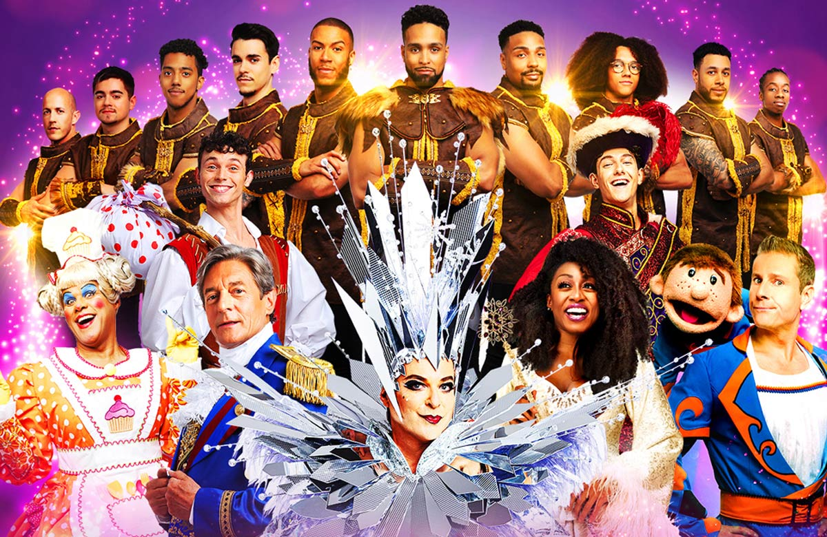 Palladium panto returns under Lottery scheme to enable other festive shows