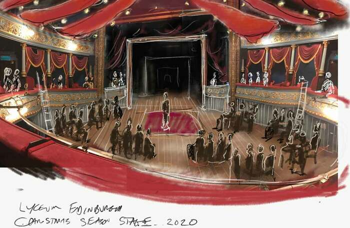 Edinburgh Lyceum Set For Christmas Reopening