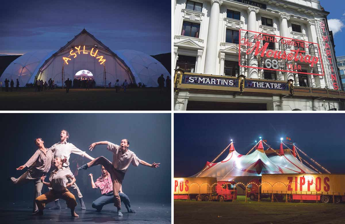 The Mousetrap, Kneehigh and Zippos Circus in latest round of recovery grants