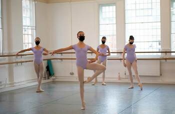 English National Ballet School partners with Bbodance and resumes in-person teaching