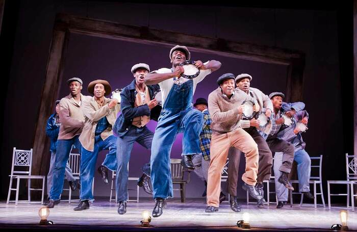 The Scottsboro Boys, which opened at London's Garrick Theatre on October 20, 2014. Photo: Tristram Kenton