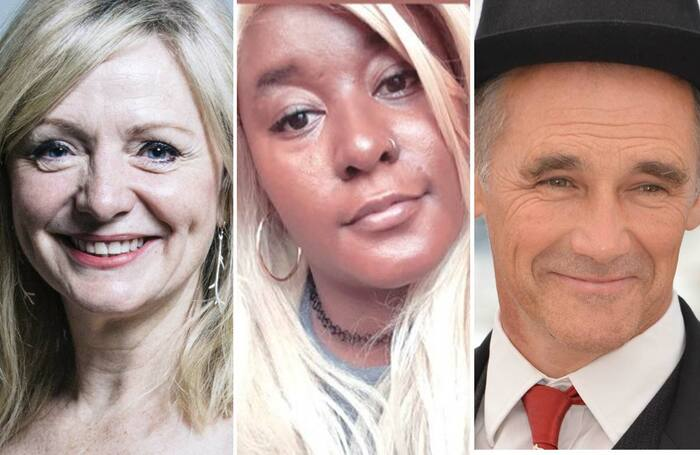 Tracy Brabin, Yolanda Mercy and Mark Rylance. Photos: Chris McAndrew/UK Parliament, Twitter, Shutterstock